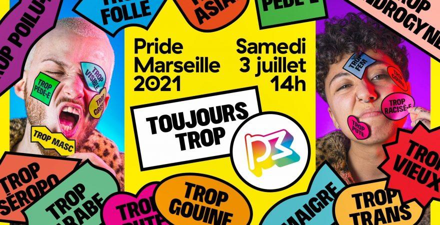 Gay Pride Marseille – 2021